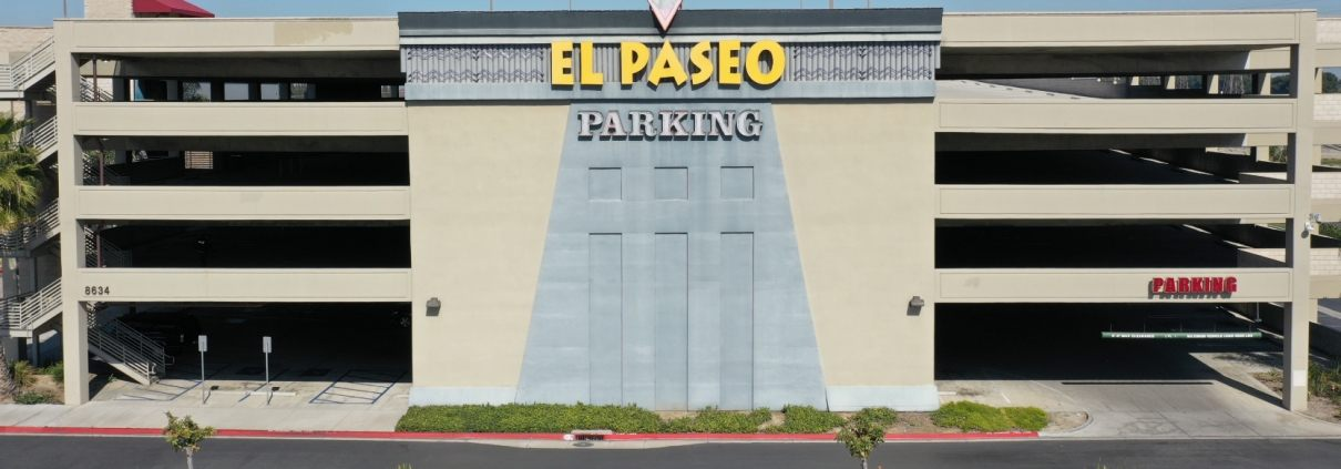 el paseo south gate parking structure