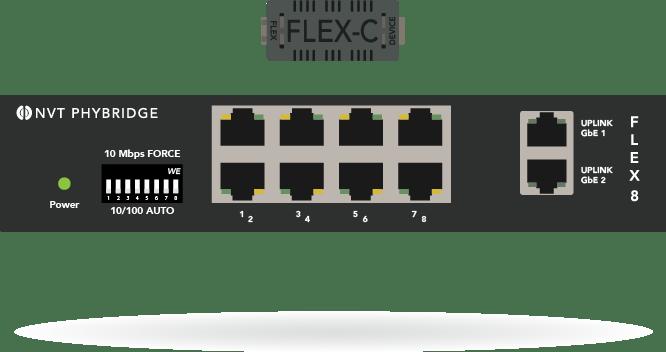 FLEX8 switch